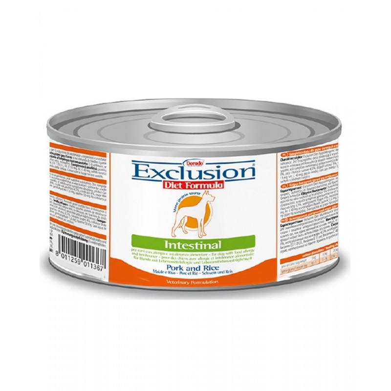 Exclusion Diet Intestinal Dog Maiale E Riso 200Gr