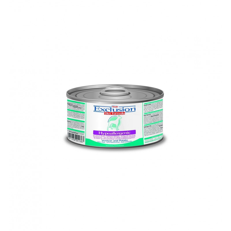 Exclusion Diet Hypoallergenic Dog Cervo E Patate 200 Gr
