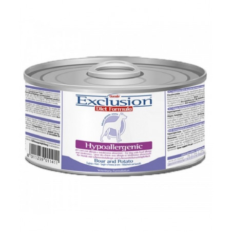 Exclusion Diet Hypoallergenic Dog Cinghiale E Patate 200Gr