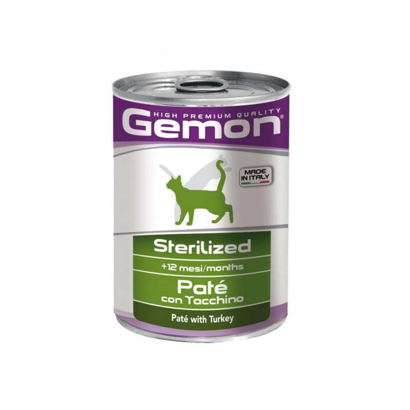 Monge Gemon Cat Sterilized Patè...