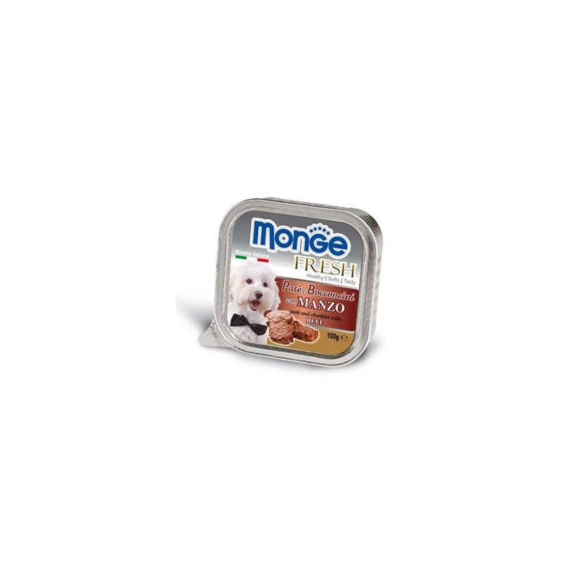 Monge Dog Fresh Patè Bocconcini Manzo...