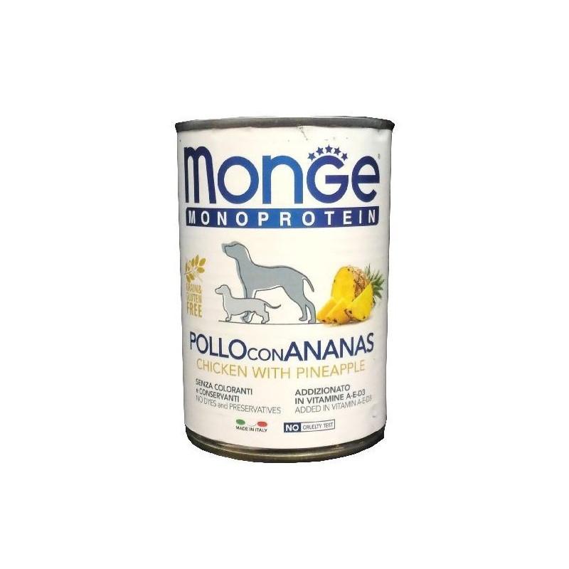 Monge Dog Solo Frutta Pollo Ananas 400 Gr