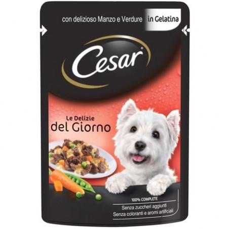 Cesar Bustina Delizie del Giorno con Manzo e Verdure in Gelatina 100 gr