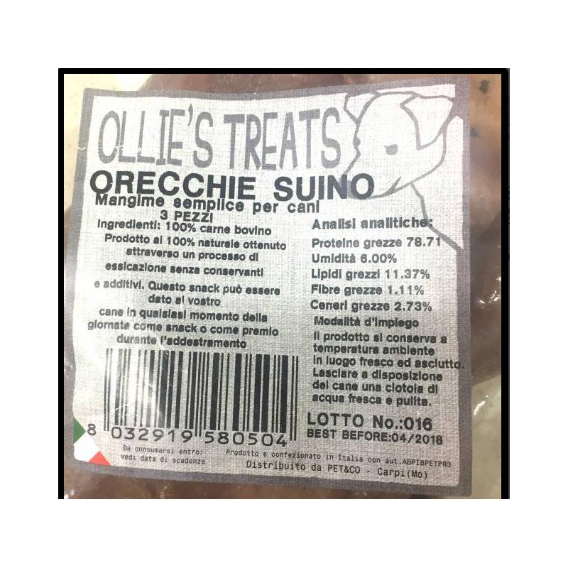 Olie Ollies Orecchio Bovino 3 Pz