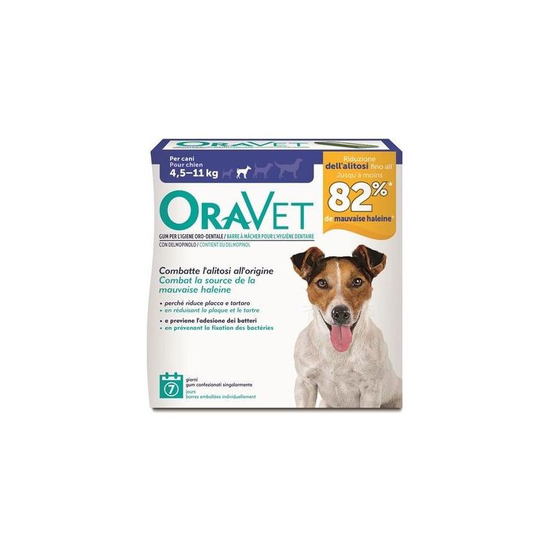 Oravet Chew Dog S Da 4,5 A 11 Kg. 7 Pz.