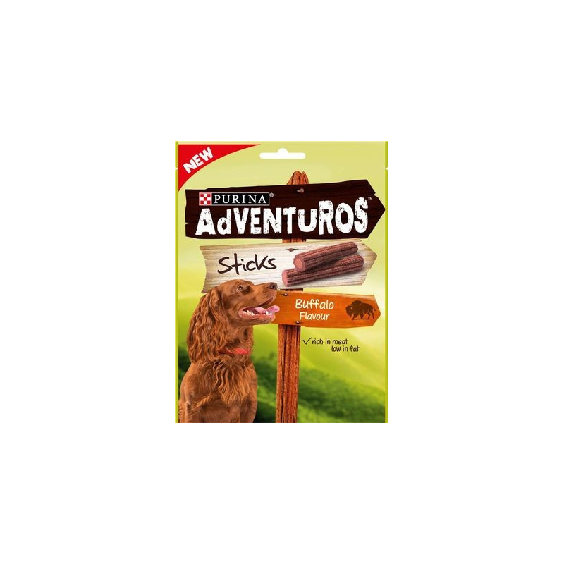 Snack Purina Adventuros Sticks Bufalo...