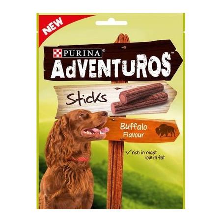 Snack Purina Adventuros Sticks Bufalo Bustine 120 Gr