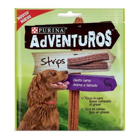 Snack Purina Adventuros Strips Cervo 90 Gr