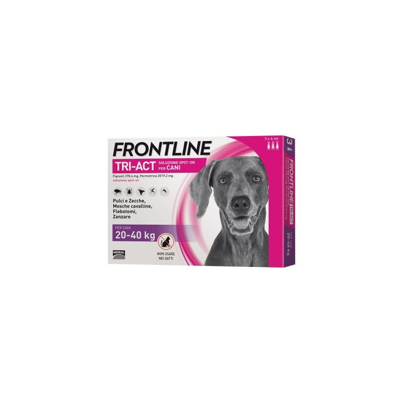 Frontline Tri-Act*6 Pipette 4 Ml...