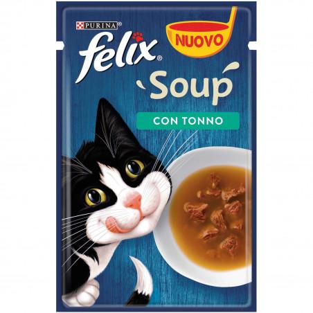 Purina Felix Soup Tonno 48Gr