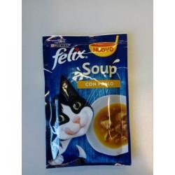Purina Felix Soup Pollo 48Gr
