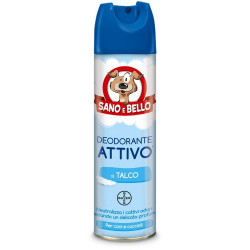 Bayer Sano E Bello Deodorante Spray Al Talco 250 Ml