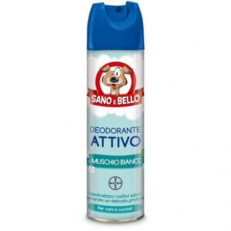 Bayer Sano E Bello Deodorante Spray Al Muschio Bianco 250 Ml