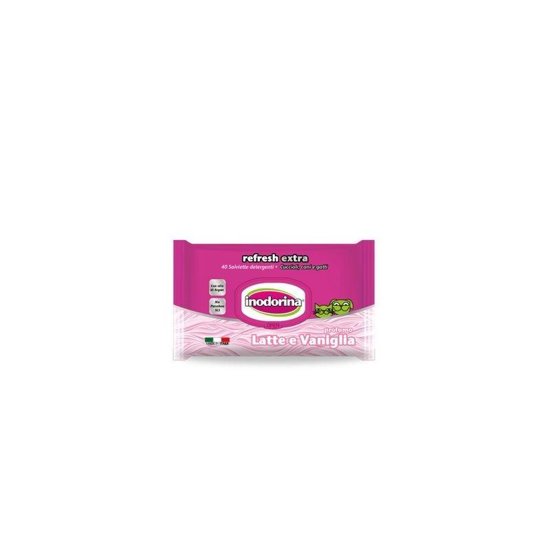 Salviette Latte Vaniglia Inodorina 40 Pz