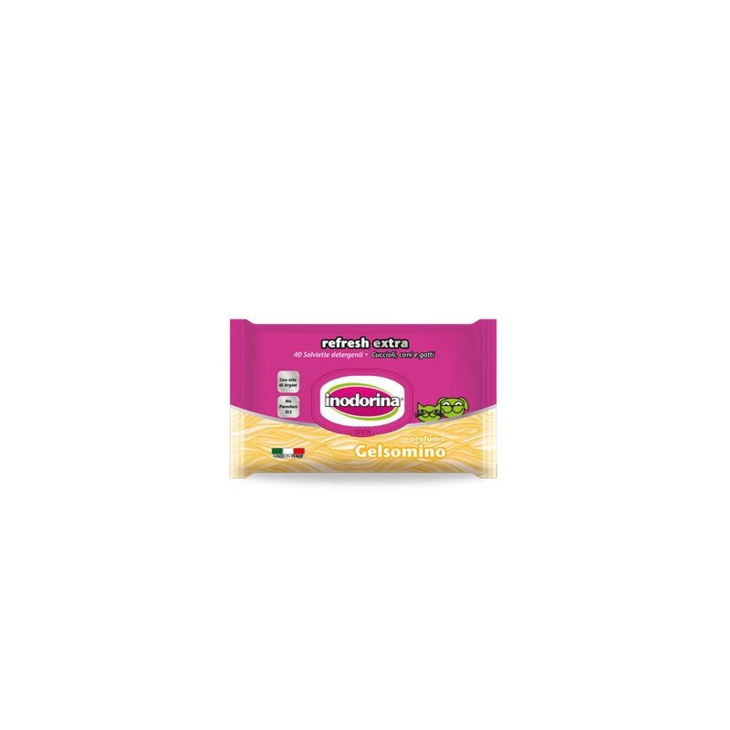 Salviette Gelsomino Extra Inodorina 40 Pz