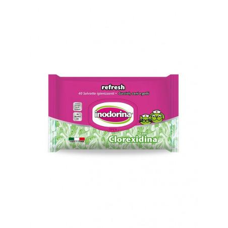 Salviette Clorexidina Inodorina 40 Pz