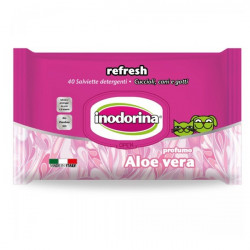 Salviette Aloe Vera Inodorina 40 Pz