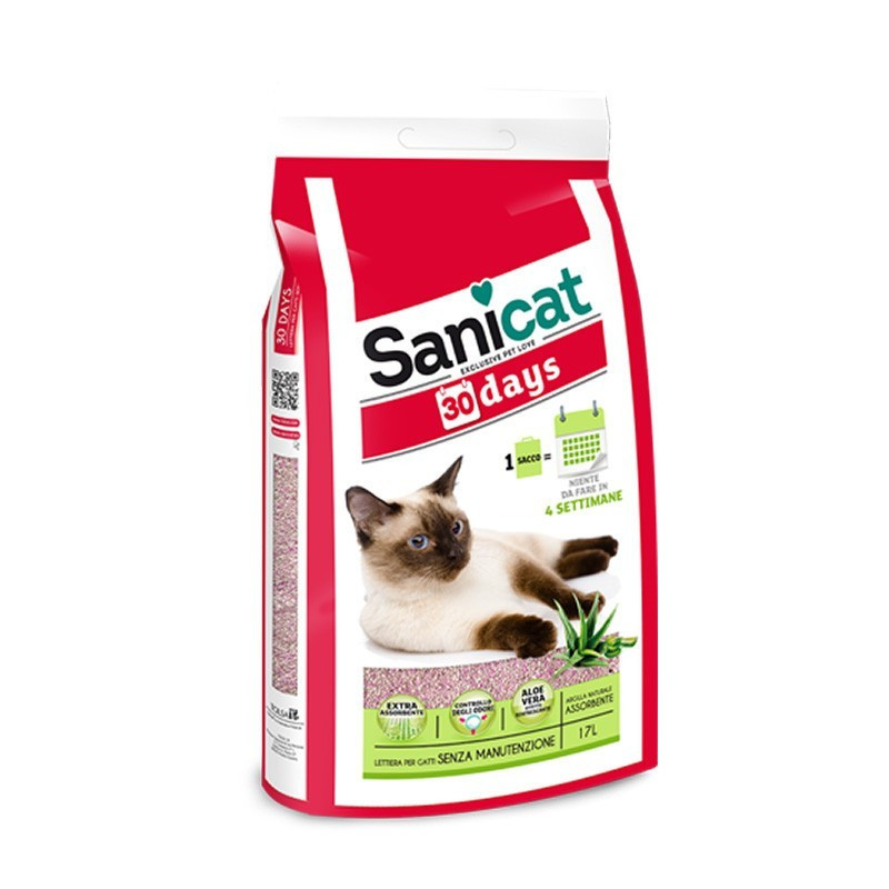 Sanicat Lettiera 30 Days 17Lt