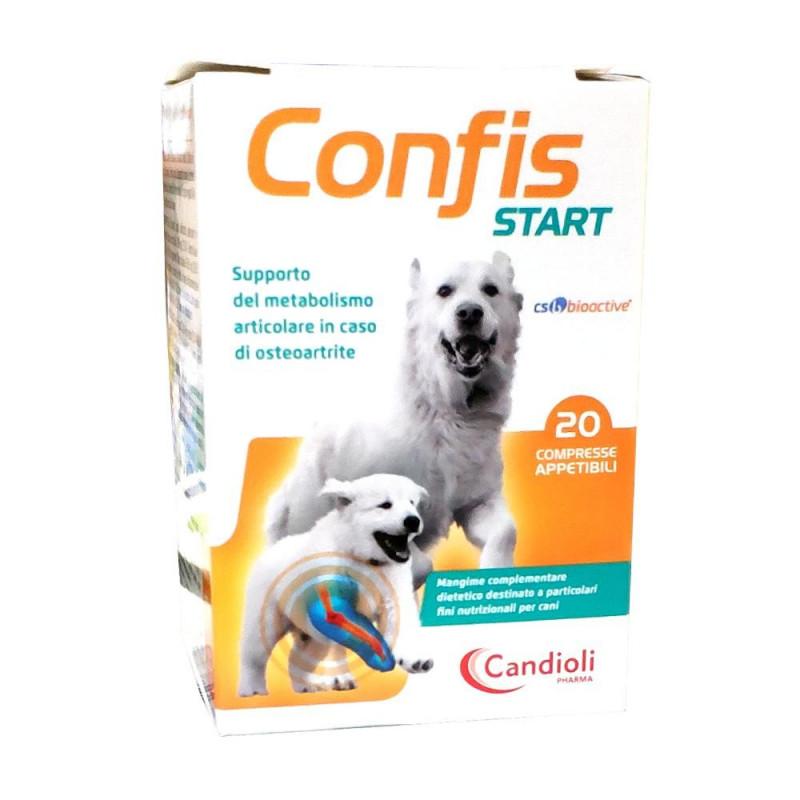 Confis Start 20 Compresse Candioli