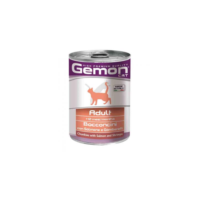 Monge Gemon Cat Salmone e Gamberetti...