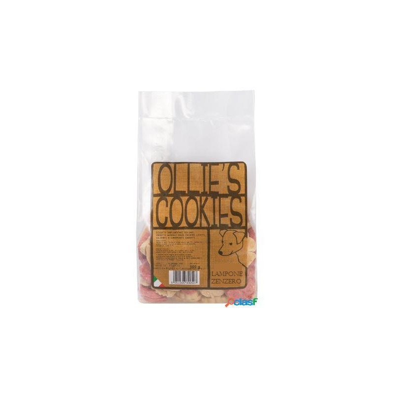 Ollie'S Cookies Lampone E Zenzero