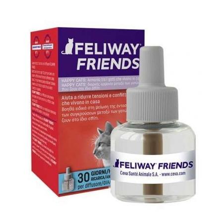Feliway Friends Diffusore + Ricarica 48 Ml