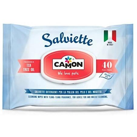 Camon Salviette Tea Tree Oil 40 pz