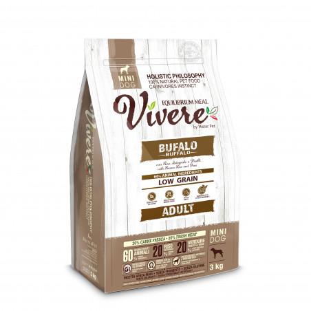 Vivere Low Grain Adult Gluten Free Bufalo Mini 3 kg