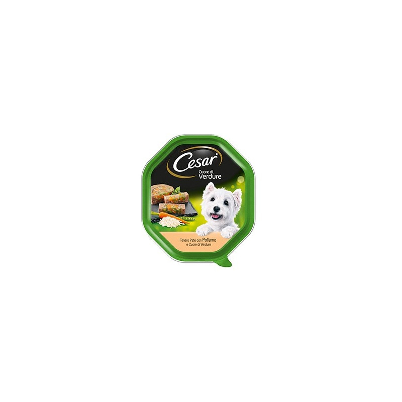 Cesar Cuore Verdure Pollo 150 Gr