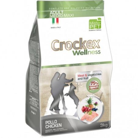 Crockex Wellness Cane Adult Medium Maxi Anatra Kg 12