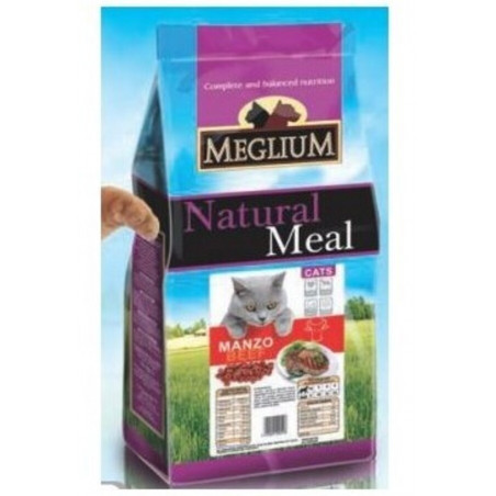 Meglium Gatto Adult Manzo 3 Kg