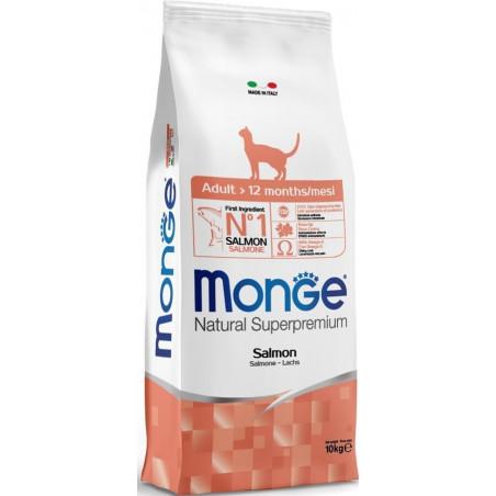 Monge Natural Superpremium Cat Adult Salmone 10 Kg