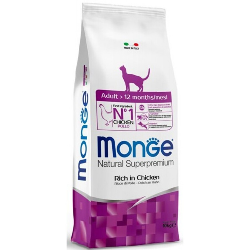 Monge Natural Superpremium Cat Adult...