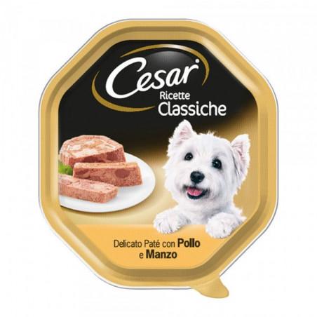 Cesar Ricette Classiche Patè Pollo e Manzo 150G