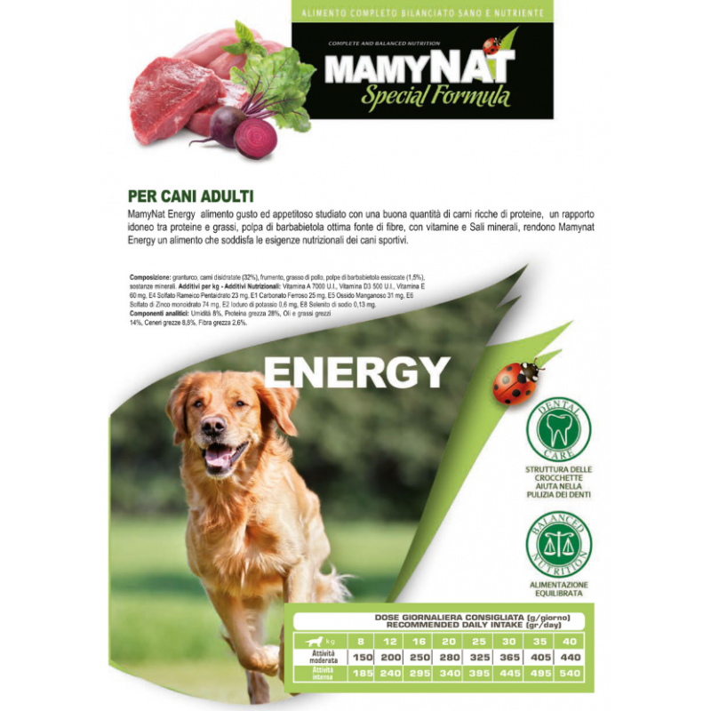Mamynat Cane Adult Energy 20 Kg