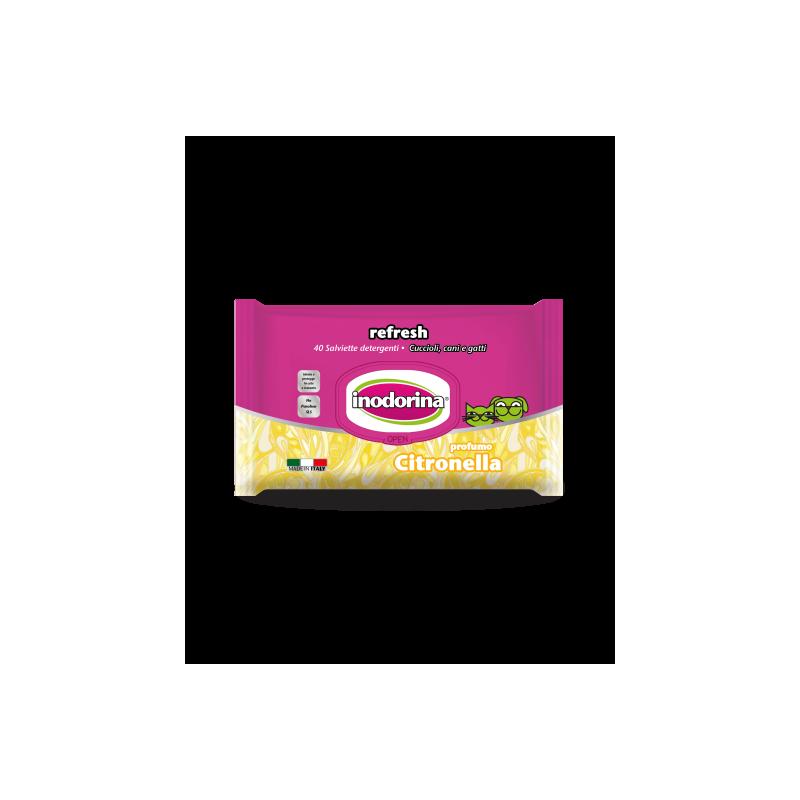 Salviette Citronella Inodorina 40 Pz