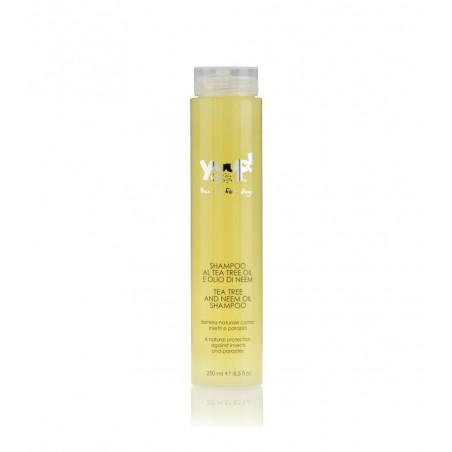 Yuup Shampoo Tea Tree Oil e Olio di Neem 250 Ml