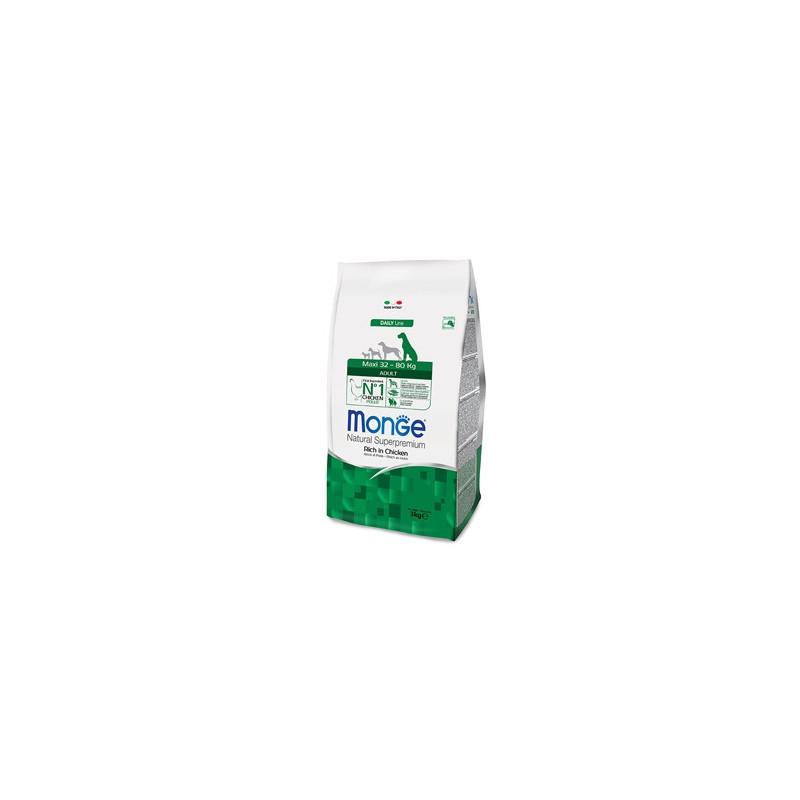 Monge Natural Superpremium Maxi Adult Ricco di Pollo 12 Kg