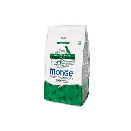 Monge Natural Superpremium Crocchette Maxi Adult Pollo