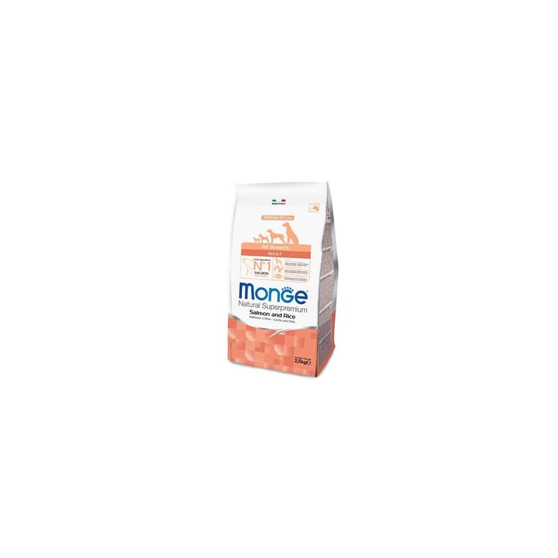 Monge Natural Superpremium All Breeds Croccheette Adult Salmone e Riso