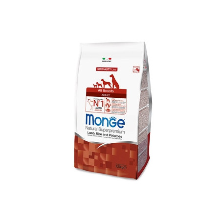 Monge  Natural Superpremium All Breeds Adult Agnello Riso e Patate