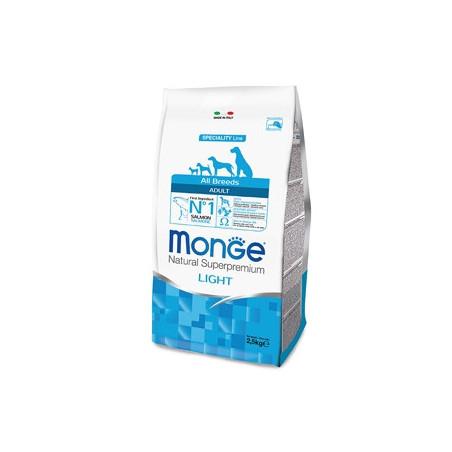 Monge Natural Superpremium All Breeds Adult Light Salmone e Riso 12 Kg