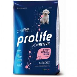 Prolife Sensitive Puppy Medium Large Agnello e Riso 10 Kg