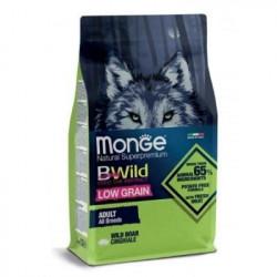Monge Bwild Low Grain al Cinghiale 2,5 Kg