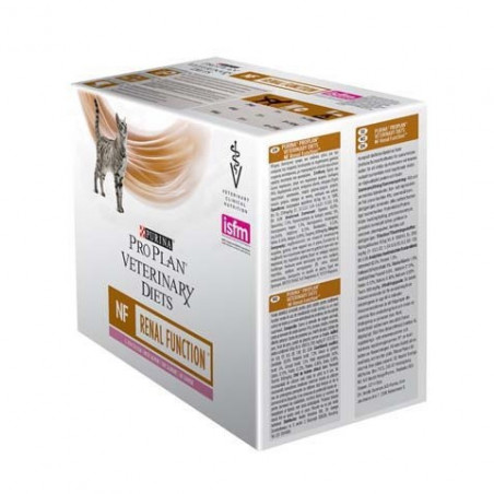 Purina Pro Plan Veterinary Diet Cat Nf Renal Salmone Bustine da 85 Gr