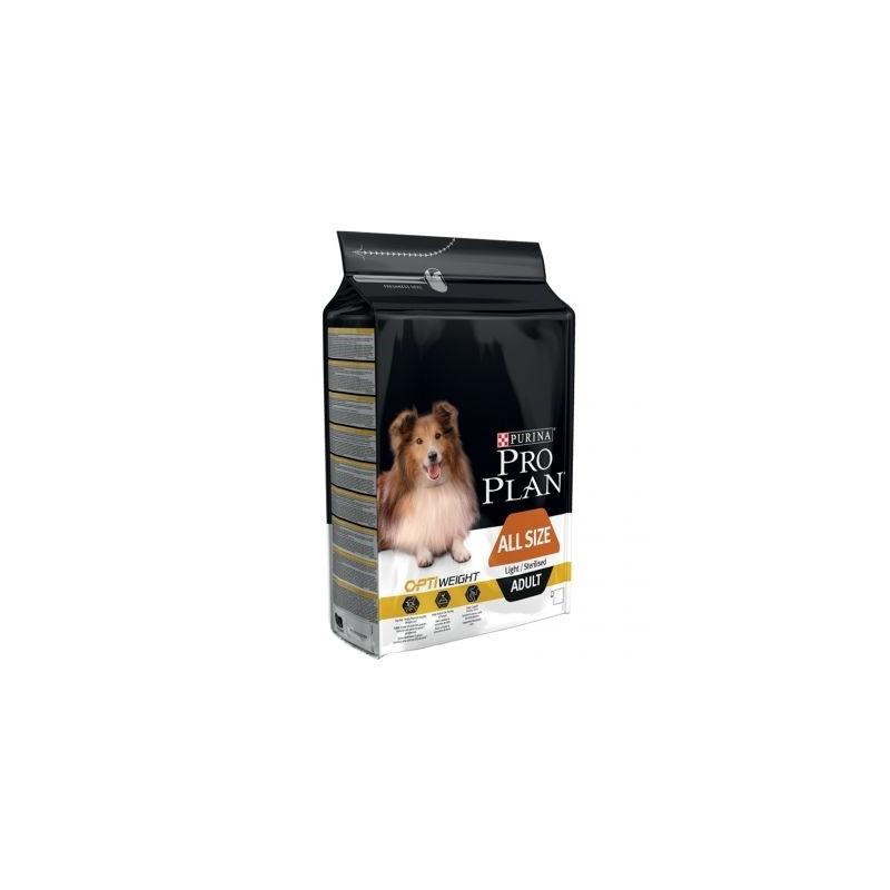 Purina Pro Plan Cane All Sizes Adult Light Sterilised OptiWeight Pollo 14 kg