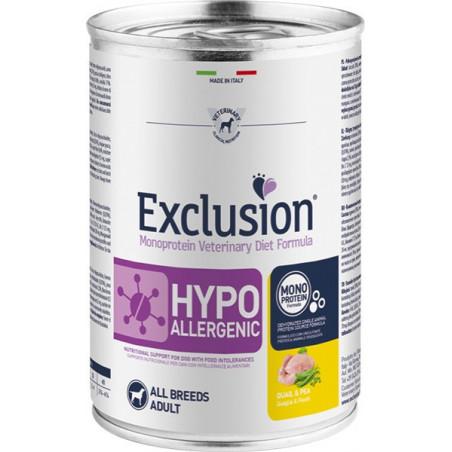 Exclusion Diet Hypoallergenic Quaglia E Piselli 400 Gr
