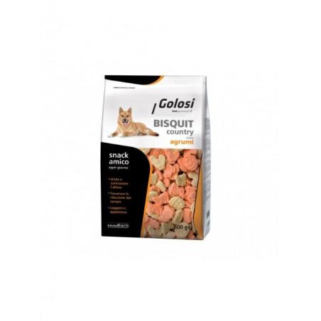 Golosi Biscotti Per Cane Country Agrumi 600 gr
