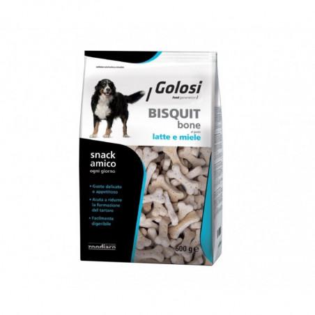 Zoo Golosi Biscotti Bone Latte e Miele 600 gr