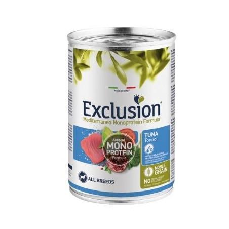 Exclusion Mediterraneo Adult  Tonno All Breeds 400 Gr